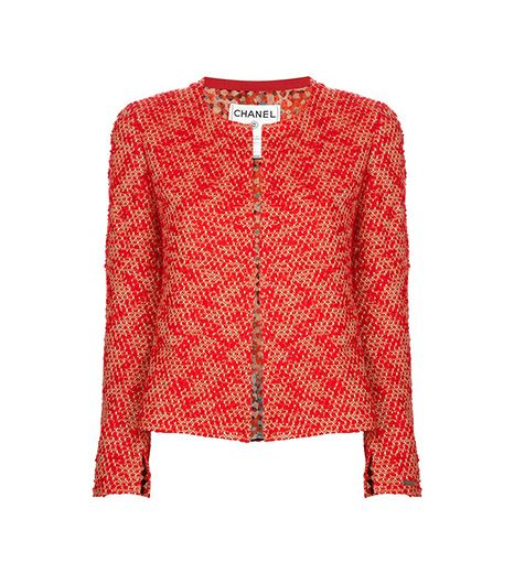 Vintage Jacket and Top ($1550) in Red