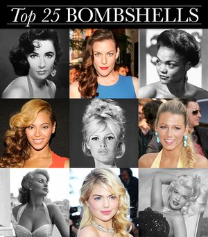 The 25 Most Inspiring Bombshells Of All Time