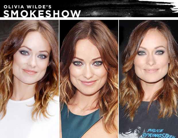Olivia Wilde Loves A Smoky Eye