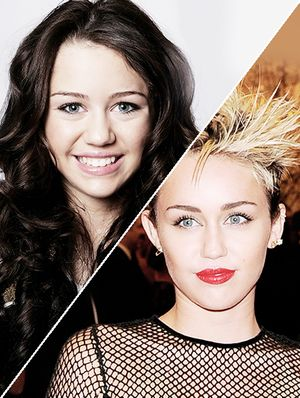 The Many Hairstyles of Miley Cyrus