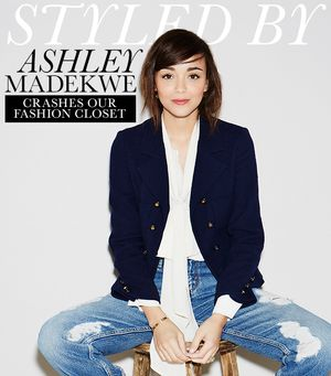 Ashley Madekwe Raids Our Fashion Closet