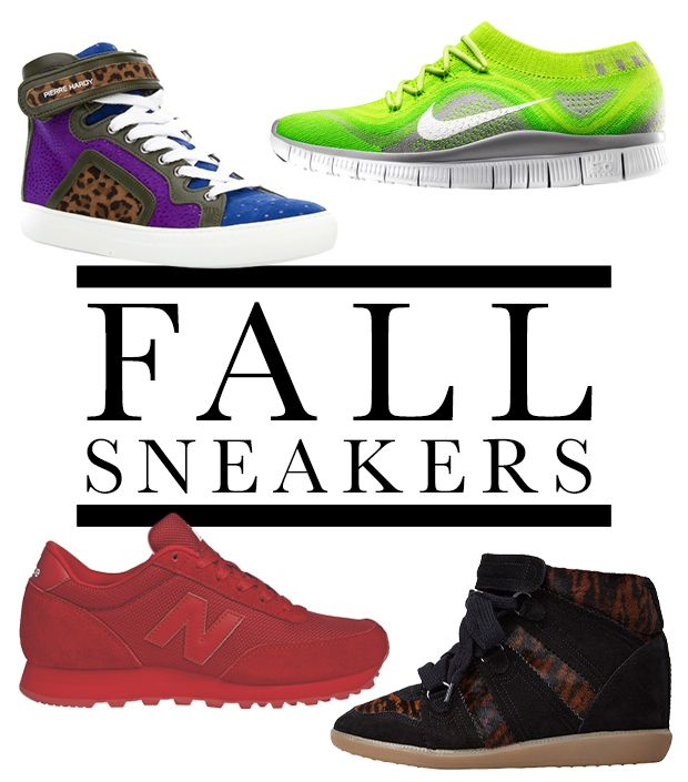 Amp Up Your Sneaker Game With Fall's Coolest New Styles