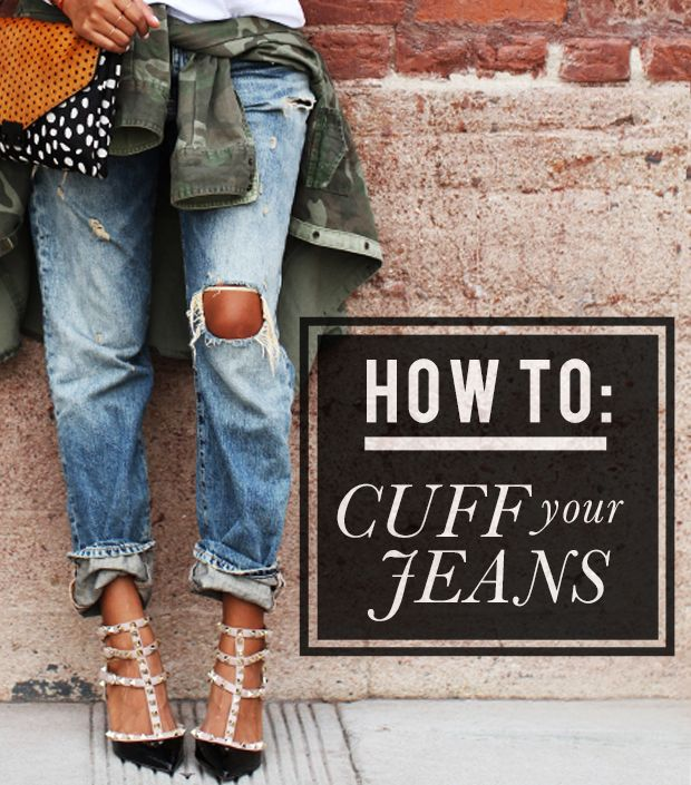 How To Cuff Your Jeans Like A Pro