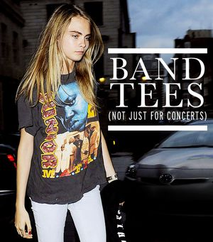 New Ways To Wear Your Old Band Tee From Rihanna & More