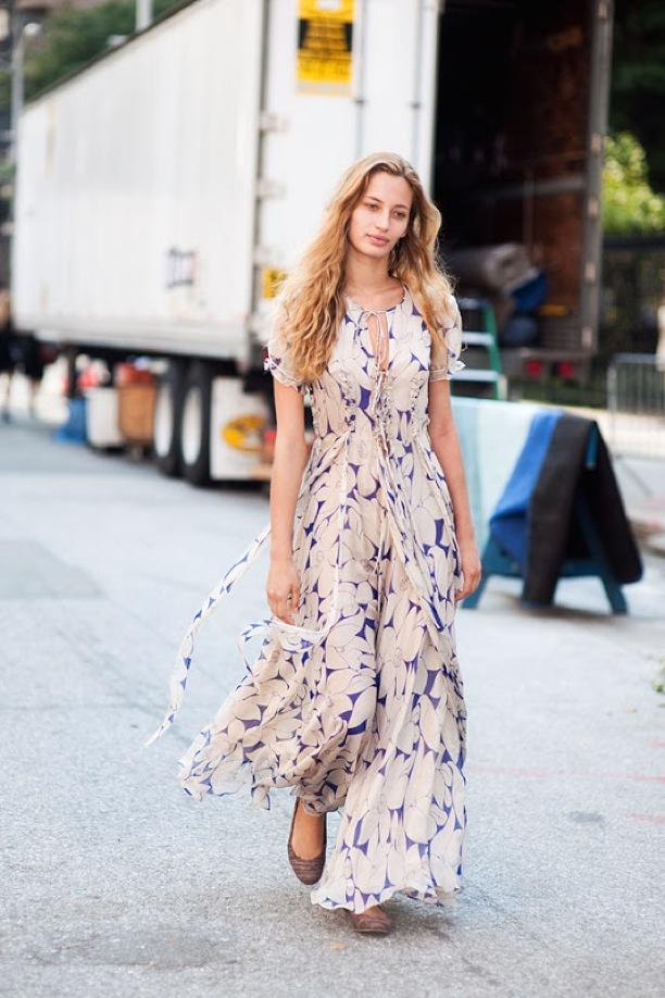 Street Style: Flowy Florals