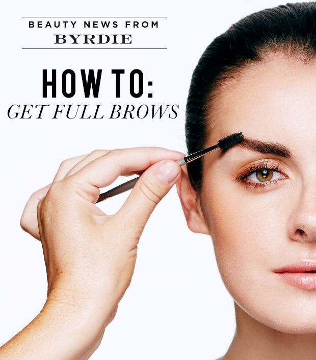 How To Fill In Your Eyebrows Like A Pro