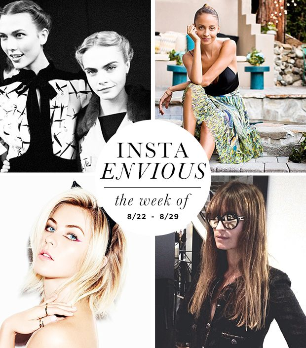 Julianne Hough's Byrdie Editorial & More On Instagram This Week