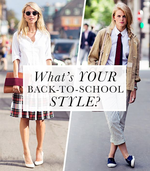 Back-To-School Style Inspiration: Post-Grad Plaid & More!