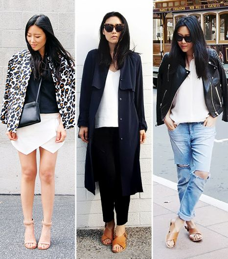 Andy Heart  If you, like us, love a combination of very clean lines and a high/low mix, you will definitely appreciate LA resident Ann Kim's site. She knows how to style Zara and Everlane...