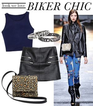 How To Dress Like A Biker Babe--No Motorcycle Needed!