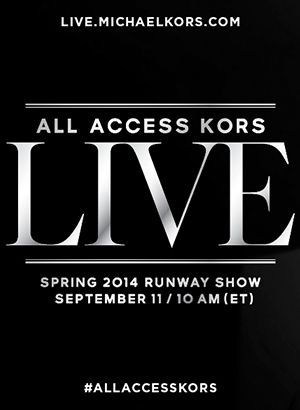 All Access to Watch the Michael Kors Runway Show Live