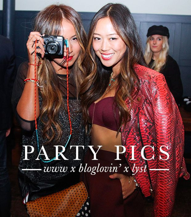 Party Pics: Who What Wear x Bloglovin' x Lyst NYFW Bash
