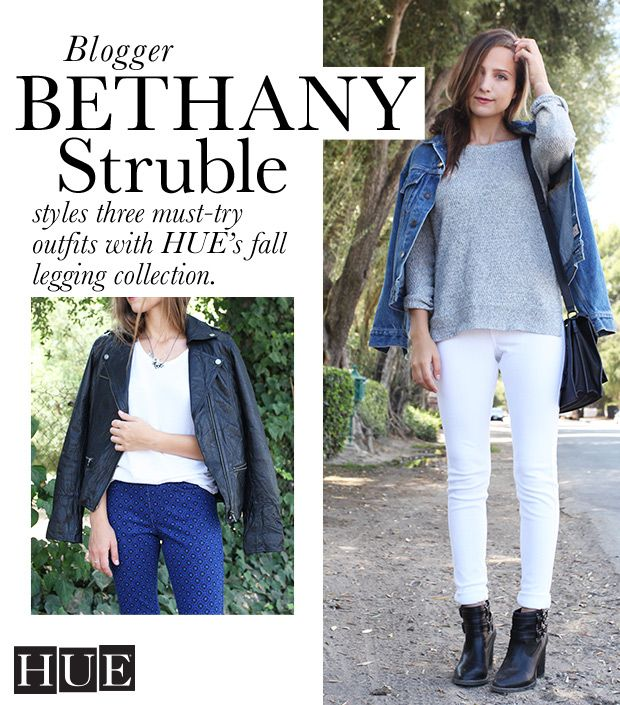 3 Ways To Wear HUE's Fall Collection With Blogger Bethany Struble of Snakes Nest