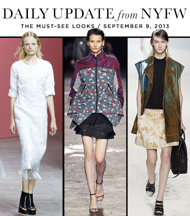 A Look Back At The Most Memorable Runway Looks From Day 5 Of NYFW