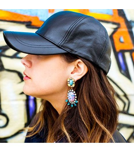 Jenagambaccini is wearing: Dannijo earrings.