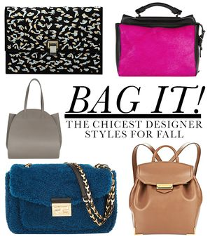 The In-Demand Designer Bags We're Coveting This Fall