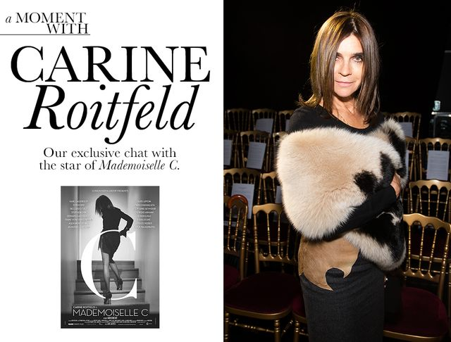 A Moment With Mademoiselle C's Carine Roitfeld