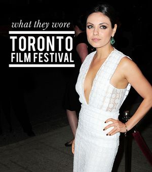 Toronto Film Festival Fashion: The Standout Looks