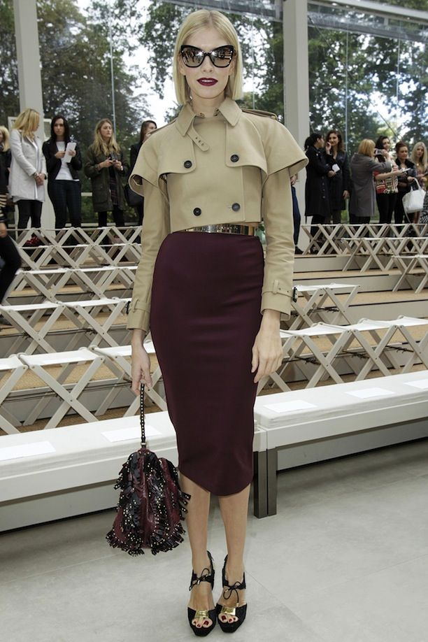 LFW Front Row: Burberry S/S 2014
