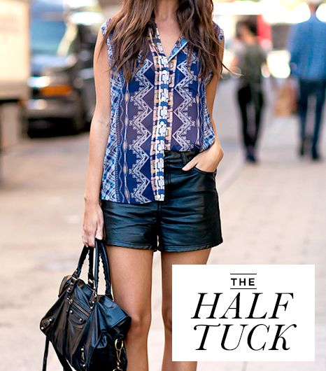 The Half Tuck