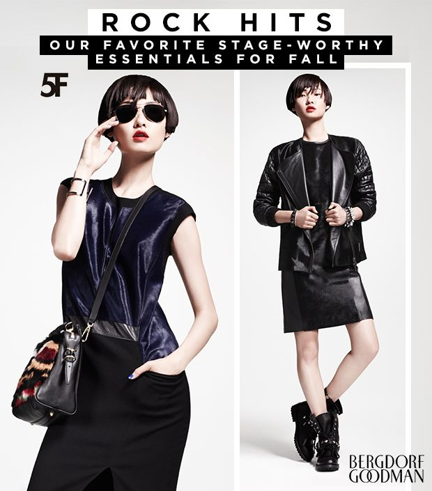 The Rocker-Chic Look Made Easy With Pieces From Bergdorf Goodman