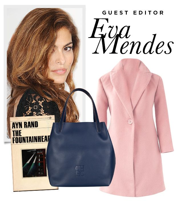 The Clothing Beauty Items Eva Mendes Cant Live Without This Fall