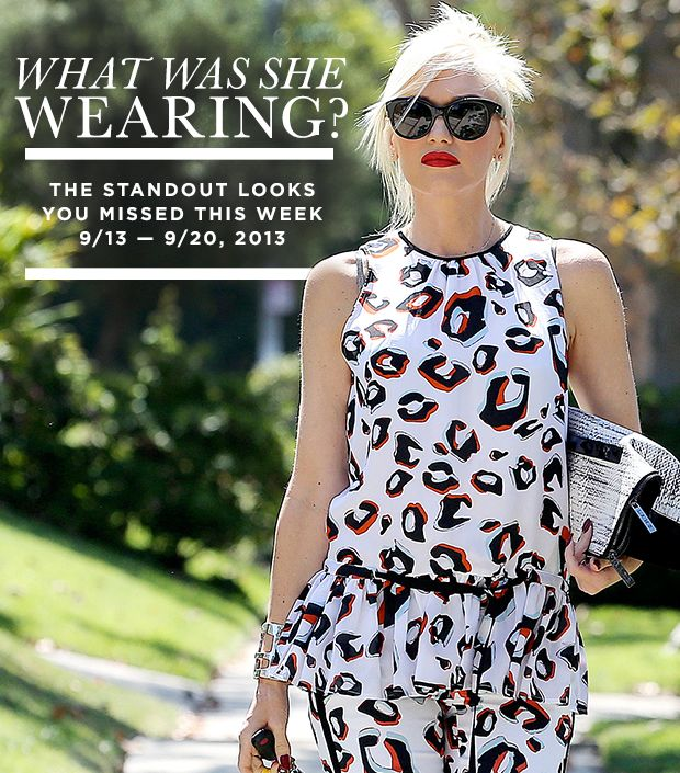 What Gwen Stefani, Jessica Biel, and More Wore This Week