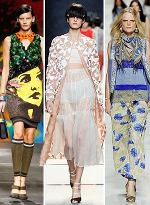 Ciao Bella: Show-Stopping Looks from Fendi, Etro, and More!