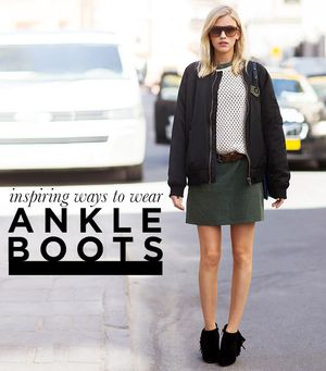 8 Fresh Ways to Wear Ankle Boots