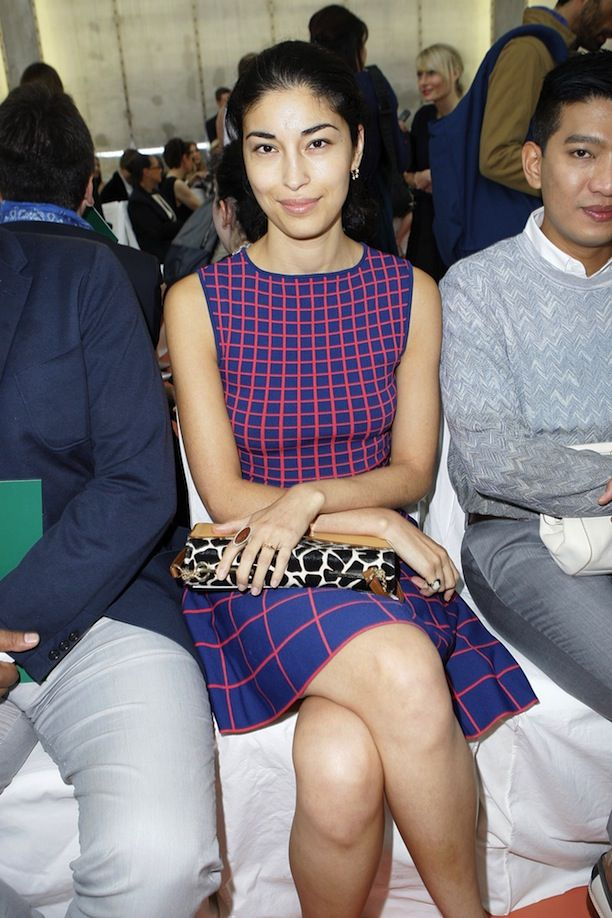 MFW Front Row: Marni S/S 2014