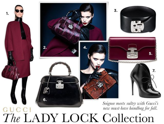 Introducing: Gucci's Lady Lock Collection