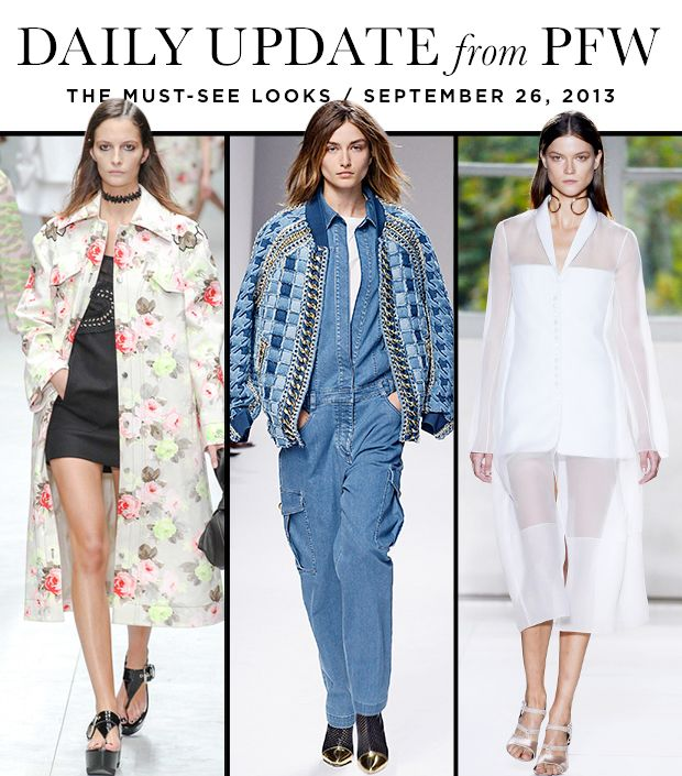 Highlights from Day Three of Paris Fashion Week