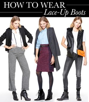 5 Fresh Ways to Wear a Lace-Up Ankle Boot