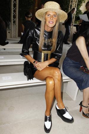 PFW Front Row: Balenciaga S/S 2014