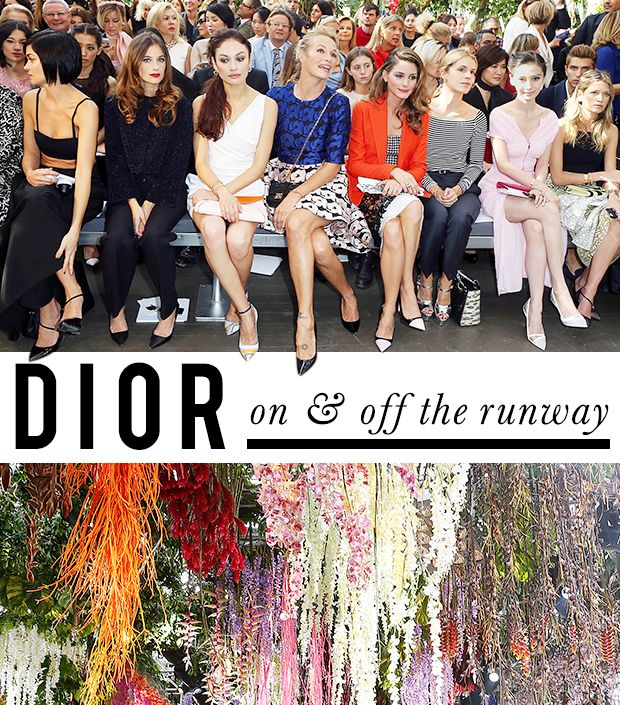 Street Style Stars and Stellar Runway Looks at Christian Dior