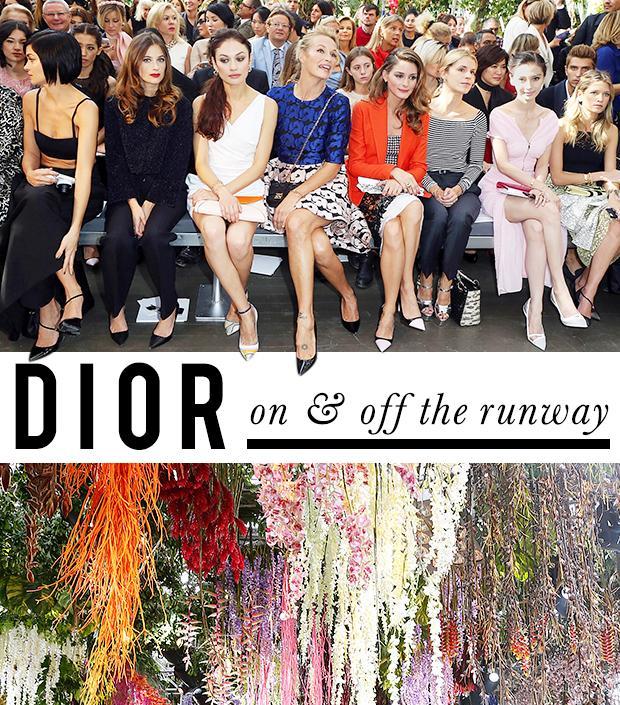 Street Style Stars and Stellar Runway Looks at Christian Dior