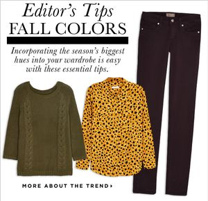 Marshalls The Editor Series: Fall Colors