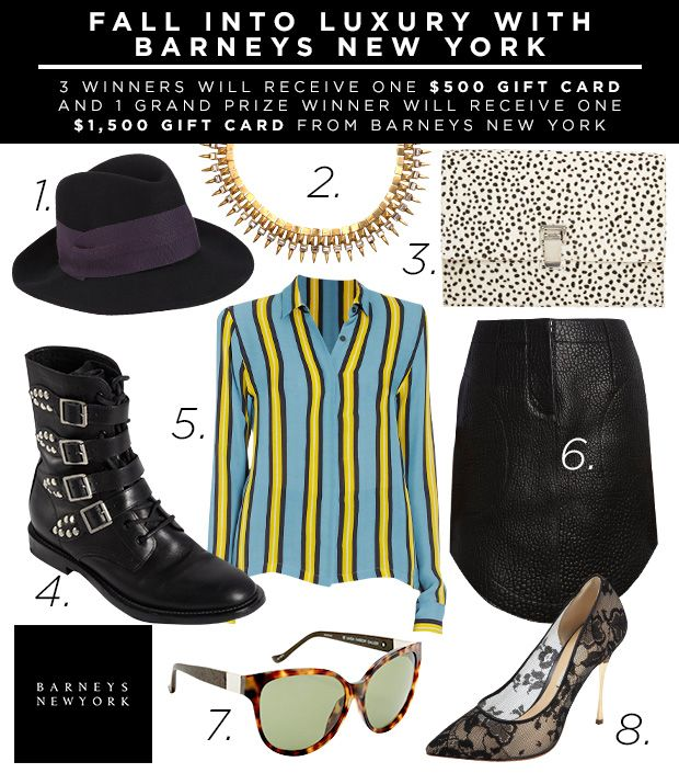 Barneys Fall Sweepstakes