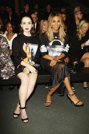 PFW Front Row: Givenchy S/S 2014