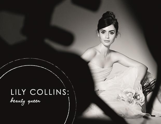 Lily Collins, Lancome's Latest Ambassadress, Talks Brows
