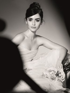 Lily Collins, Lancome's Latest Ambassadress, Talks Brows