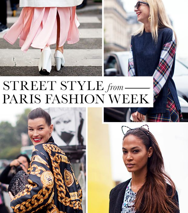 Incredible Street Style Snaps From Paris Fashion Week