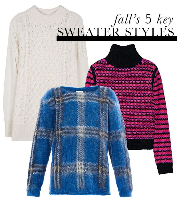 Five Must-Have Sweater Styles