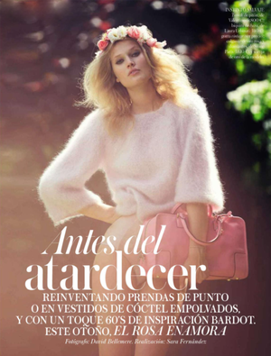 The Most Beautiful Shades of Pink As Seen In Vogue Spain