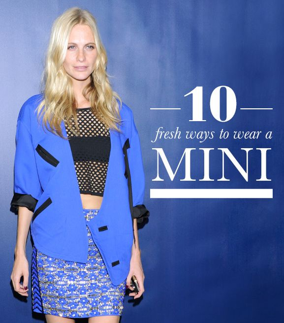 10 Fresh Ways to Wear a Miniskirt