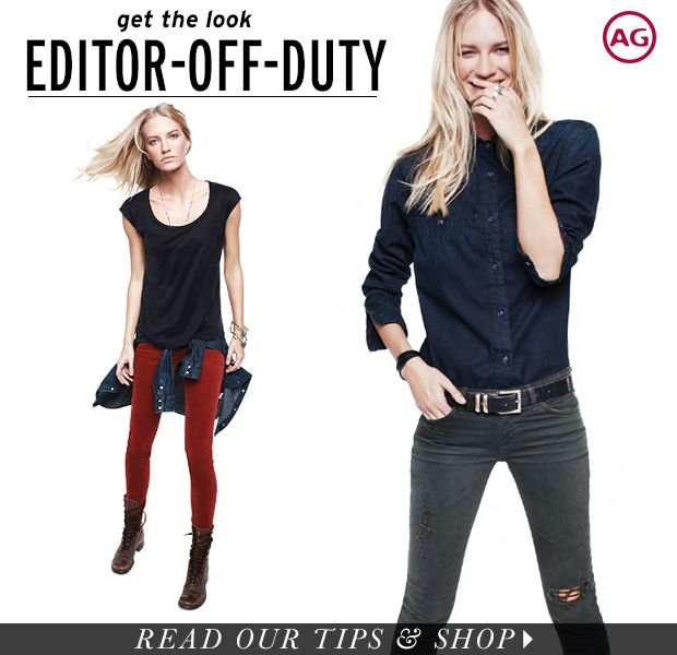 Dress Like An Editor With Weekend-Ready Pieces From AG