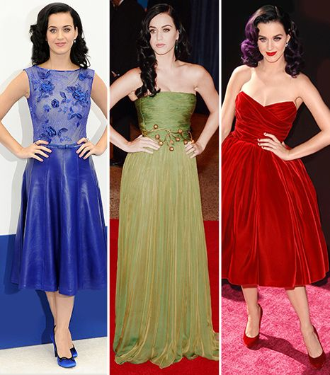 In Honor Of Katy Perry's New Album, A Rainbow Of Her Best Looks