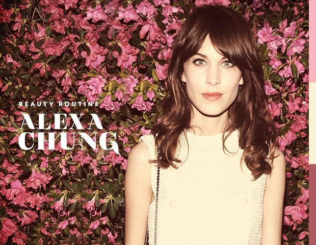 Alexa Chung's Beauty Routine
