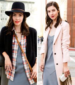2 Easy Tricks For Pulling Off A Slip Dress