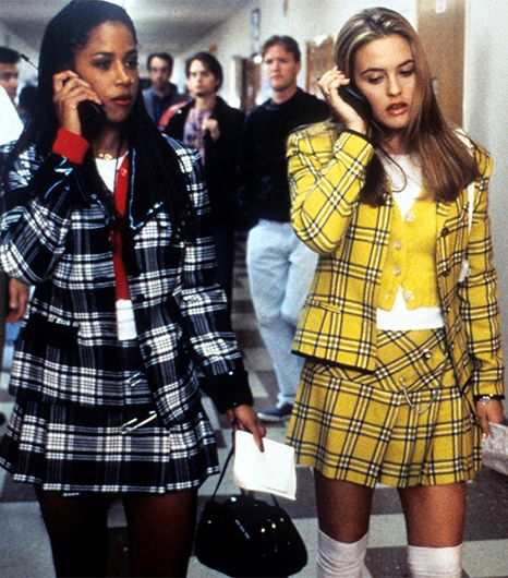Cher Horowitz from Clueless  As if! Like we would really wear something from Judy's. Luckily, two major trends for fall—backpacks and plaid—are an essential part of Cher...